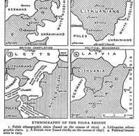1923 Ethnography of the Vilna region